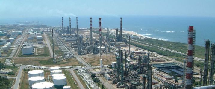 Porto oil refinery