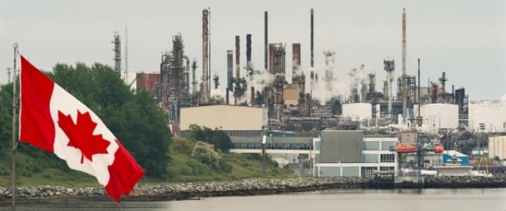 Canadian refinery