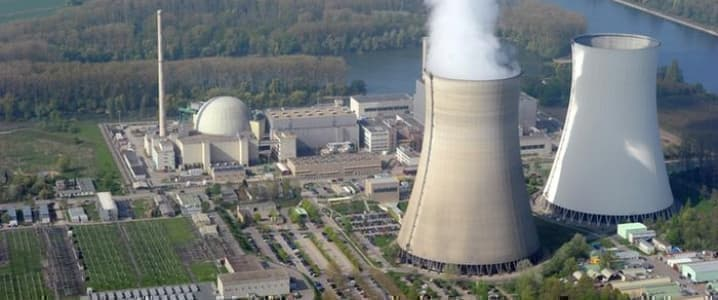 Nuclear plant Germany