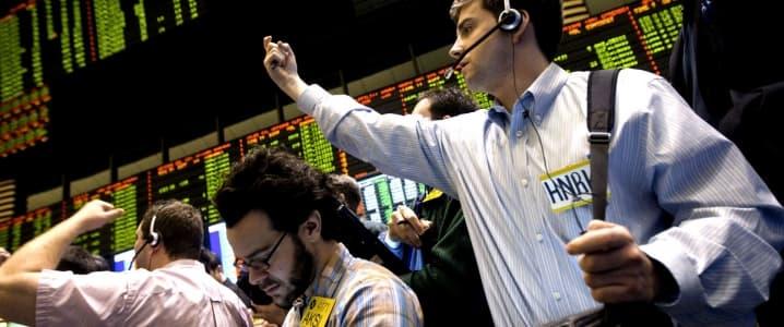 NYMEX trading