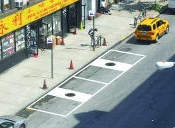 New York Manholes for Electric Car Charging