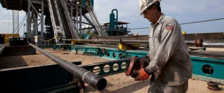 Fracking employee