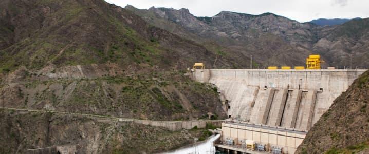 Kyrgyzstan dam