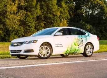 Under Pressure to Innovate, GM Unveils Bi-Fuel Sedan