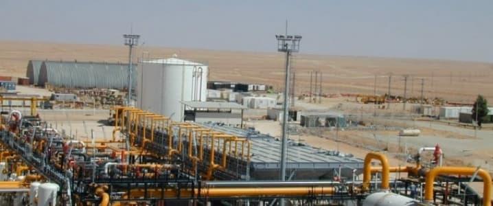 Yemen Oil Wells