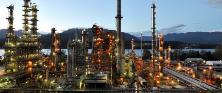Burnaby oil refinery