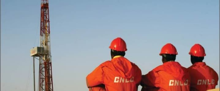 CNPC drilling team