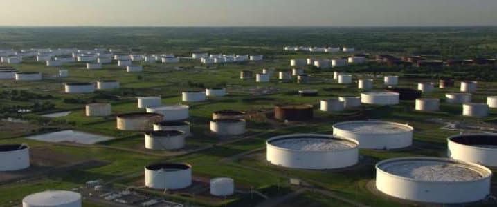 oil tank farm