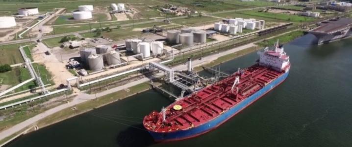 oil tanker TX