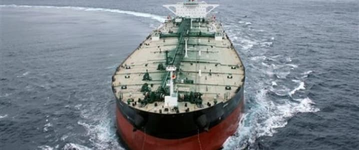 Bab El Mandeb Strait Tanker