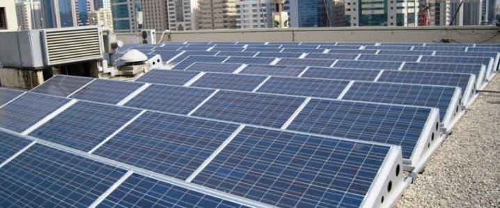 Abu Dhabi solar roof