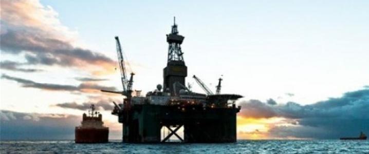 Falklands oil rig