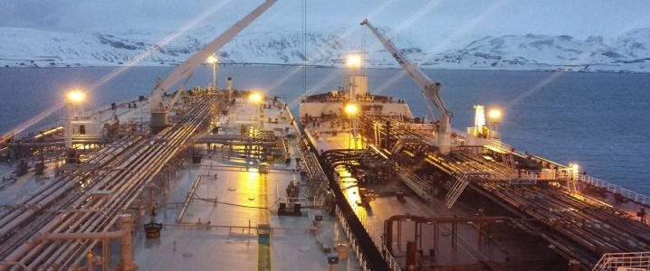 crude oil shipping