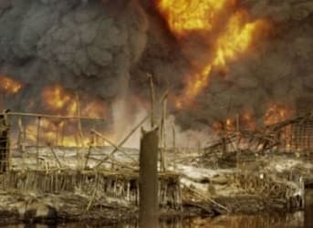 Nigerian Pipeline Bombed, Knocking Off 300,000 Barrels Per Day