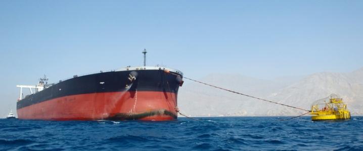 Oman crude tanker