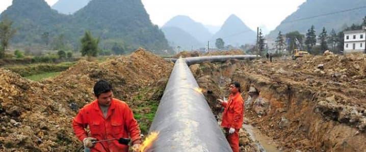 Myanmar pipeline