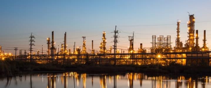 Motiva Oil Refinery