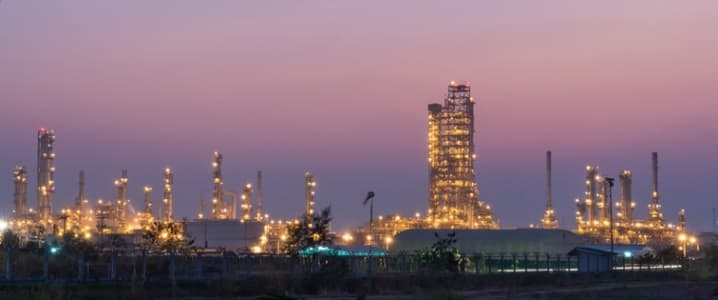 Kuwait Oil Refinery