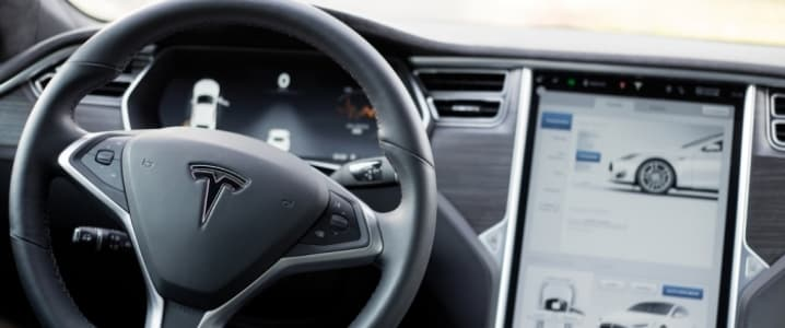 EV interior