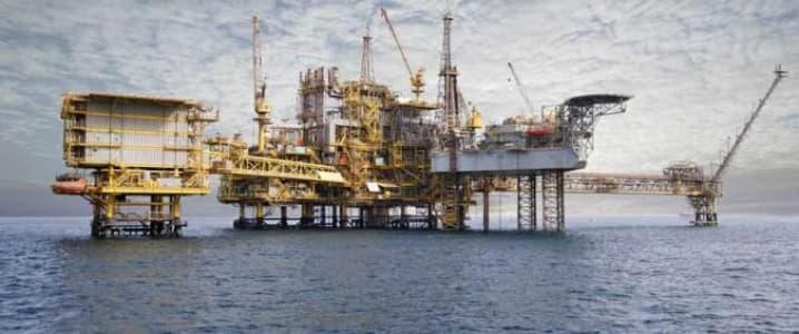 Qatar offshore rig
