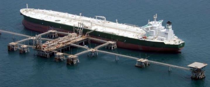 Oil tanker Saudi Arabia