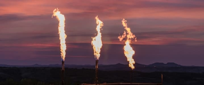 Permian Flaring