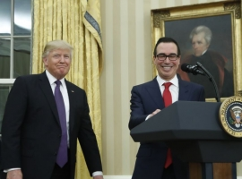 Mnuchin: Washington Will Insist On At Least 20% Iran Oil Import Cuts