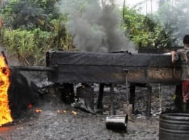 Gas Pipeline Fire Causes Blackouts In Nigeria