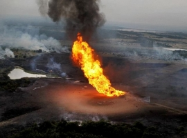 Key Nigerian Oil Export Pipeline Under Force Majeure After Fire Breaks Out