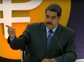Maduro: All Venezuelan Oil Will Be Sold In Petro Cryptocurrency