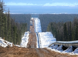 Gazprom's Power Of Siberia Gas Link To China 75.5% Complete