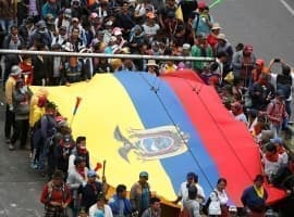 Ecuador Declares Force Majeure On All Oil Operations As Protests Escalate