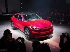 Ford Stock Climbs On Electric-Mustang Hype