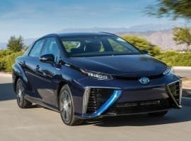 Toyota's New Hydrogen Car Takes On Tesla