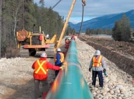 Kinder Morgan Gets Green Light On Part Of Trans Mountain Pipeline