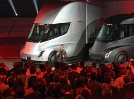 Tesla Starts Test Drives With New Truck Prototype: Report