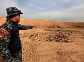 Iraqi Forces Find Mass Graves In Oil Wells Near Kirkuk
