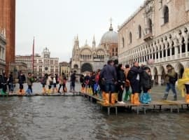 Flood Strikes Venice Council Moments After It Rejects Climate Change Measures