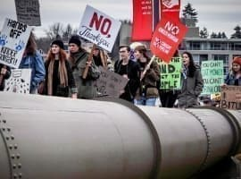 U.S. Police Promise To Protect Pipelines From