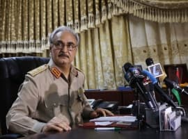 Haftar Boosts Military Security At Libya's Largest Oil Field