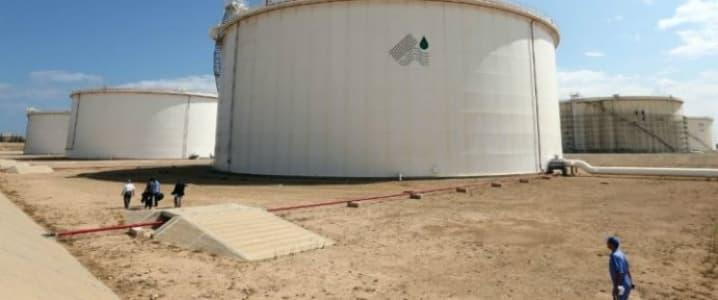 Libya Oil storage