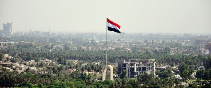 Baghdad Iraqi flag