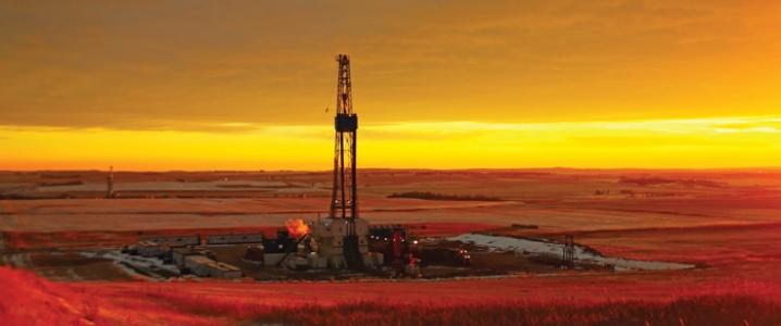 Oil rig bakken