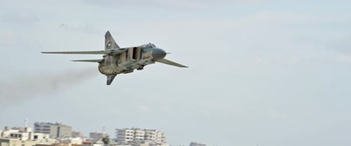 Syrian fighter jet