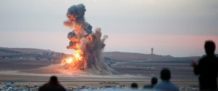 Syria airstike