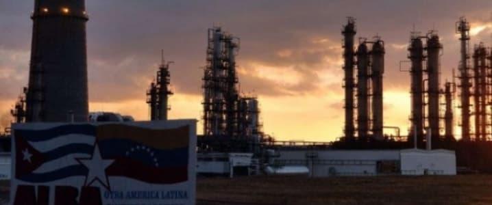 Refinery Cuba Cienfuegos