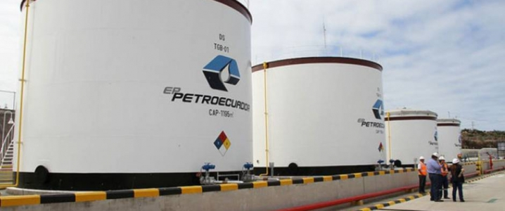 Petro ecuador storage tanks