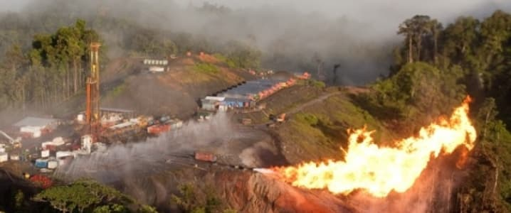 Papua New Guinea Gas