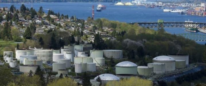 Vancouver Oil Storage