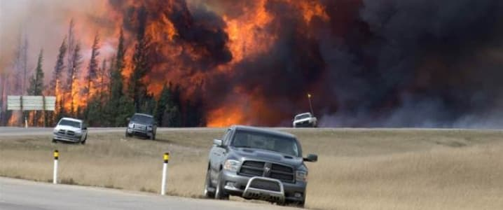Wildfire Alberta Oil Sands